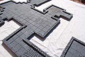DrakenStone-2-5D-Modular-Magnetic-Dungeon-D-amp-D-RPG-pathfinder-terrain-22-pieces