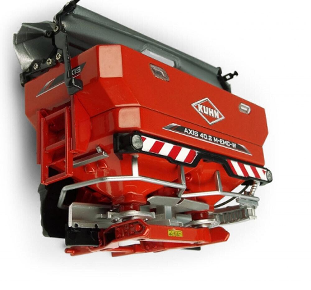 5366 1 32 Universal Hobbies Kuhn Axis 40.2 M-EMC W Mounted Spreader