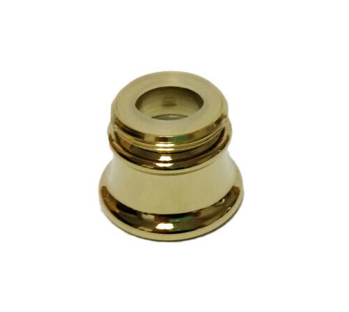 Danco Flute Style Designer Dual Thread Aerator 89291 Polished Brass