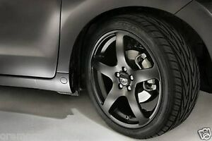 genuine scion tc 2005 2010 trd black 18 rims all 4 oem. Black Bedroom Furniture Sets. Home Design Ideas