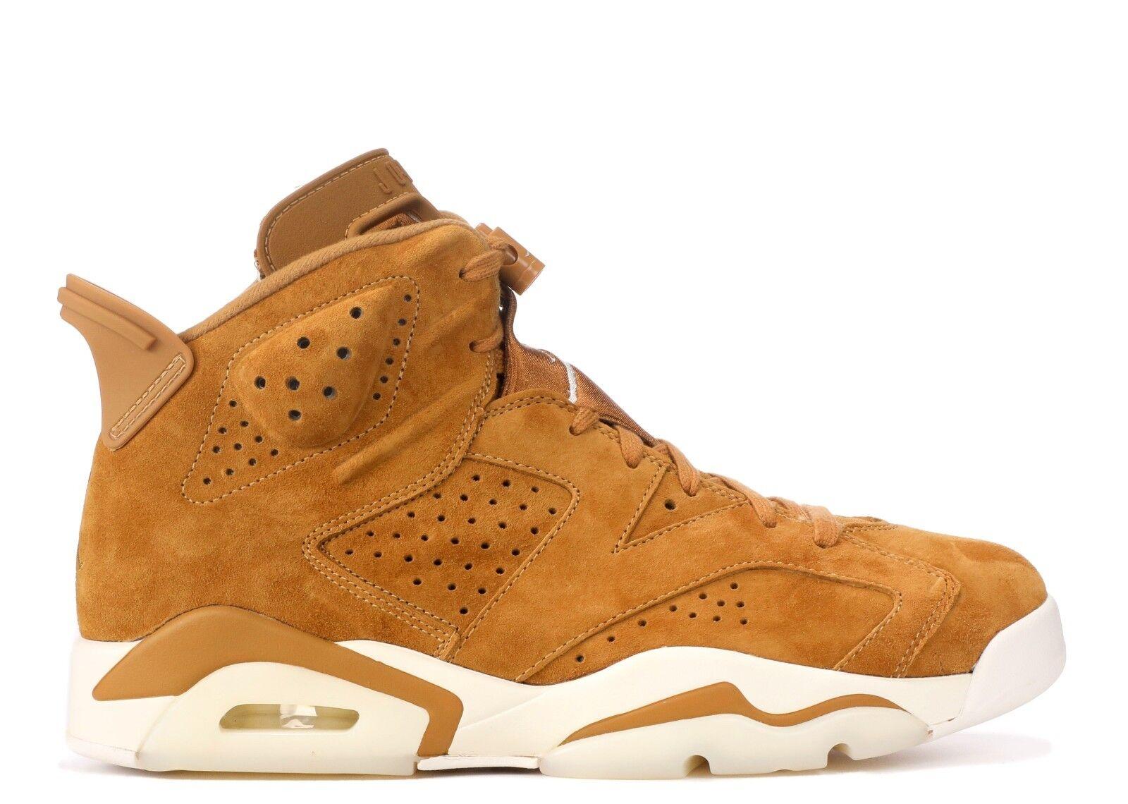 Mens Brand New Air Jordan 6 Retro  golden Harvest  Fashion Sneakers