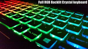 For MSI GE62 2QD Apache Pro GE62 2QE Apache keyboard US Color Backlit Crystal