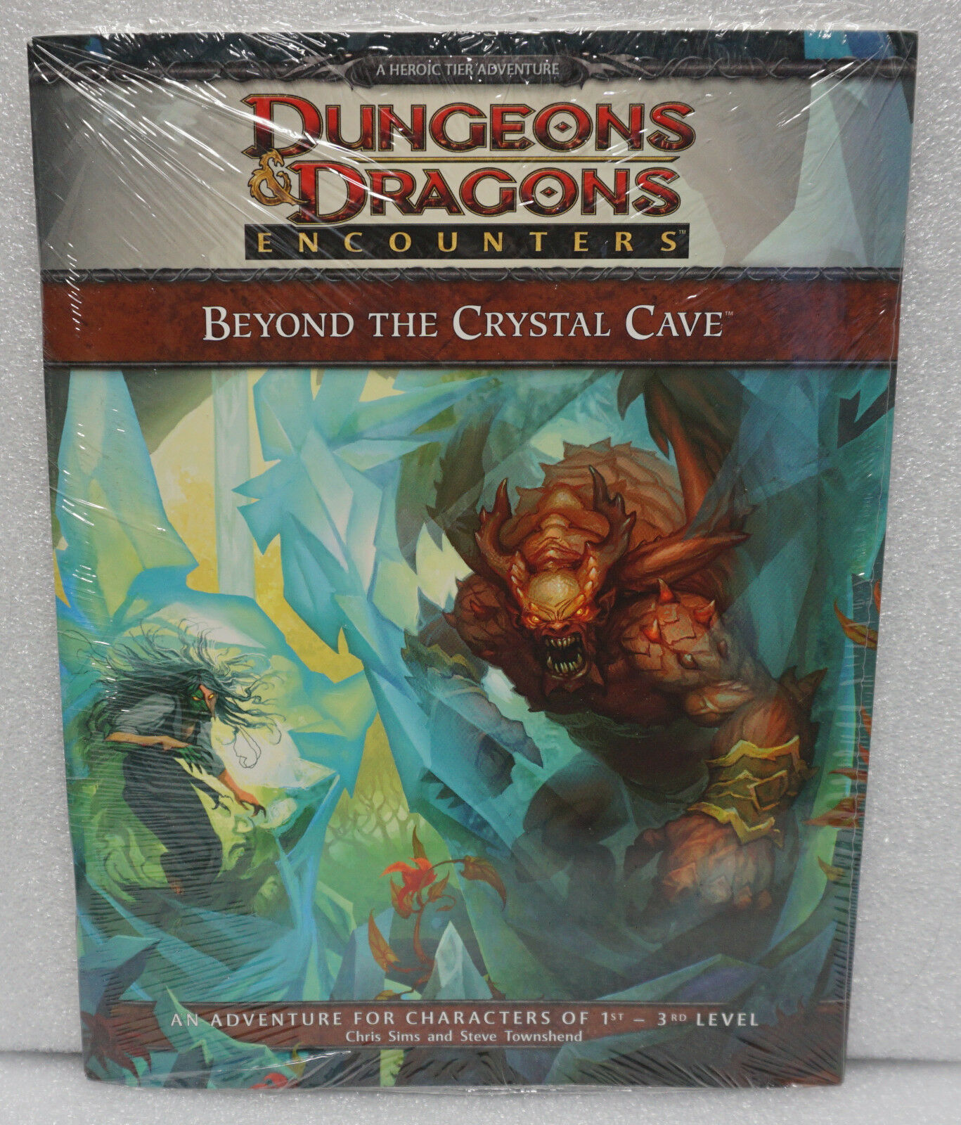 Dungeons & Dragons D&D Encounters Beyond the Crystal Cave