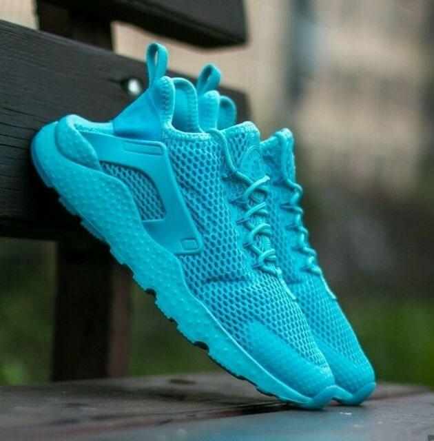 Nike Air Huarache Run Ultra BR Breathe Women/'s Shoes Gamma Blue