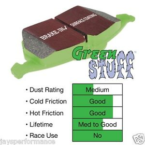 EBC Brakes DP21749 Greenstuff 2000 Series Brake Pads