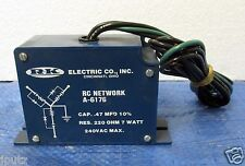 RK Electric RC Network A-6176 New Old Stock!!!