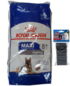 15kg Royal Canin Maxi Vieillissement 8 Senior Mature 80 Stk. Kotbeutel