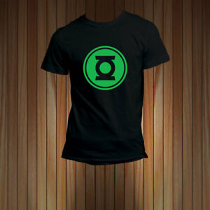 22127bca174 Green Lantern Symbol (Glow in the Dark) Men s T-Shirt Sleeves