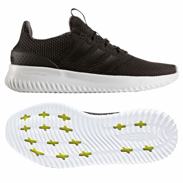 Running Cloudfoam Utility Men Neo Adidas Shoes Black Ultimate qYt75