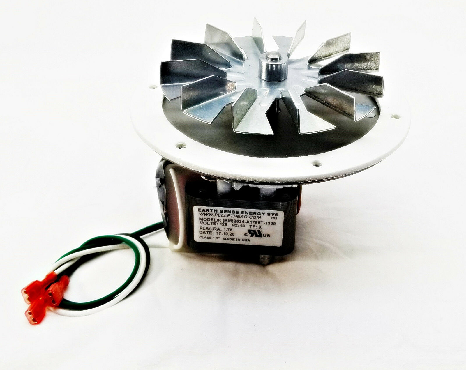 PelPro, Home Heater Cheap Charlie Exhaust Combustion Fan + 4 3 4 AMP-UNIVCOMBKIT