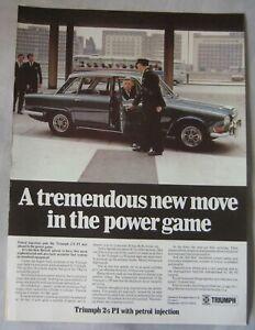 Triumph-2-5-PI-Original-advert-No-1