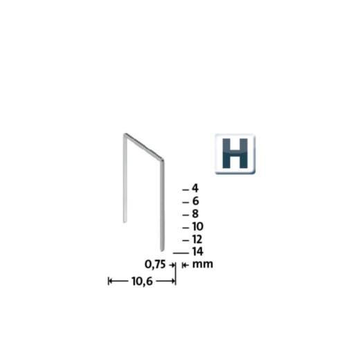 Novus feindraht Parenthèses H type 37//6 Chemise á 5.000 LOTS