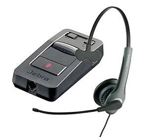 GN-Netcom-GN2010-ST-Mono-IP-Headband-Phone-QD-Headset-Jabra-Link-850-Amplifier