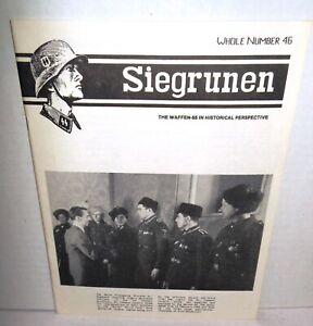 WW2-PERIODOCAL-Siegrunen-V8-4-Whole-Number-46-1988-op-Waffen-SS-History