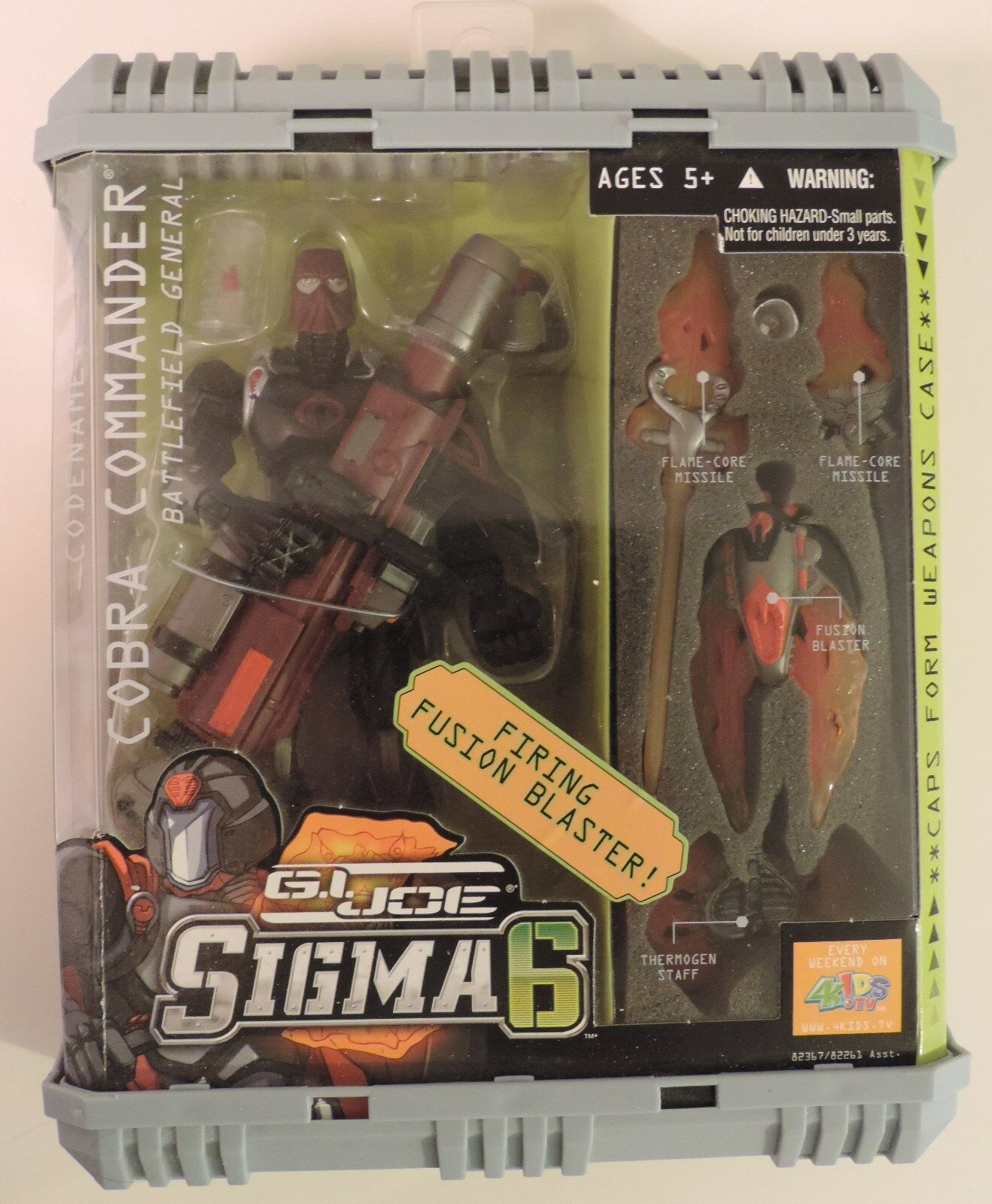 GI Joe 6 Sigma 6 Joe Cobra Commander Battlefield General 8  action figure - New 0b48e4