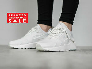 58b4c631a101 BNIB New Women Nike Air Huarache Run Ultra SI Oatmeal White Size 5 6 ...
