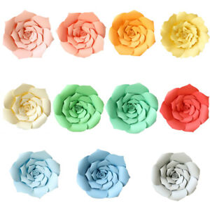 40cm colorful paper flowers backdrop hanging birthday wall wedding image is loading 40cm colorful paper flowers backdrop hanging birthday wall mightylinksfo