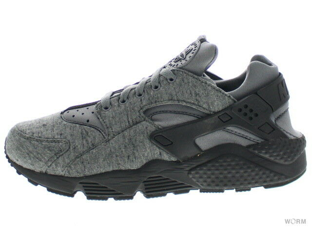 NIKE AIR HUARACHE RUN TP 749659-002 cool grey black-white Size 9.5