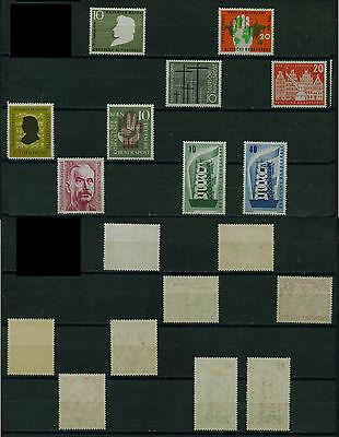 (brd110b) Germany Brd 1956, Michel Cat. 229,230,234,237,239-242,248,postfrisch Zu Verkaufen