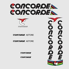 Concorde Bicycle Decals-Transfers-Stickers #1