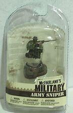 """McFarlane Military 3"""" Series 2 Army Sniper MIP"""