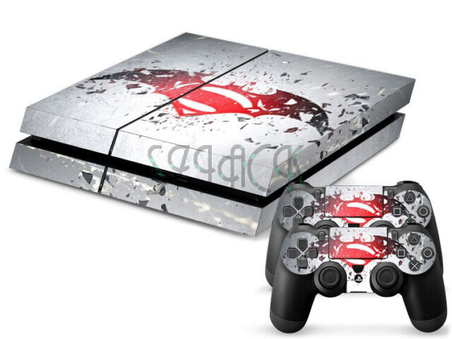 Newest Cool Super For PS4 PlayStation 4 Accessory Cover Decal Sticker Skin