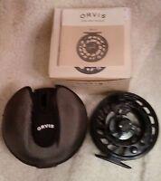 Orvis Mach Vi Fly Reel 10/13 Black (61y8-61-10)