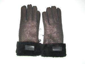 4f9a698bb34 UGG Women's Turn Cuff Glove Metallic Black Size Medium Style 17369 ...