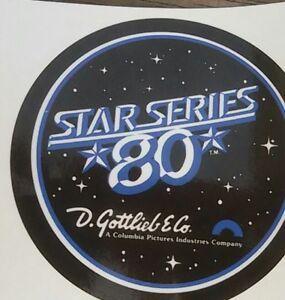 Autocollant-port-de-flipper-Gottlieb-Star-series-80