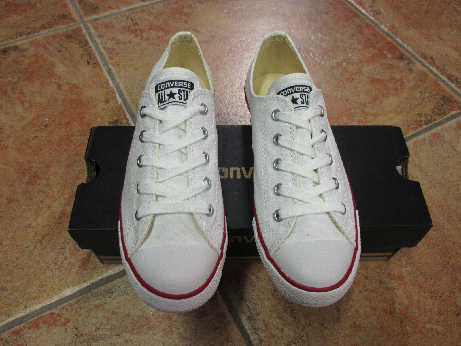 Converse Chucks CT DAINTY OX WHITE Gr. 40  Model: 537204C NEU TOP
