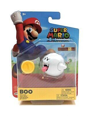 "Super Mario Bros 4/"" Figures Wave 4 Shy Guy w//Coin"