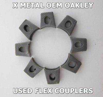 8 Used Flex Couplers Oakley X Metal Juliet XX X-Squared Mars Penny Romeo 2 Nose