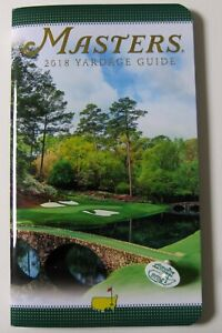 2018-Masters-Augusta-National-Yardage-Guide-with-Peg-Ball-Marker