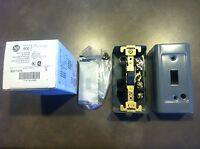 Ab Allen Bradley 600-tax4 Manual Motor Starter 1hp 277vac 1ph W/enclosure
