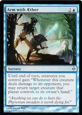 Magic the Gathering MTG New Phyrexia Foil 1x Arm with Aether