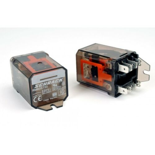 alimentación 230 Vac sin enganche Series Relé de propósito RM805730-General Interruptor DPDT RM8