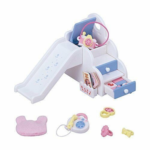 Brand New Sylvanian Families Furniture Baby Playground Slide Set Ka207