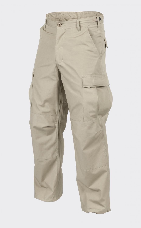 Helikon Tex Us Bdu Outdoor Army Leisure Trousers Khaki Beige XL Long