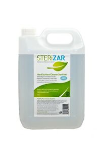 SteriZar-Hard-Surface-Cleaner-and-Sanitiser-5Ltr-Suitable-for-fogging-machines