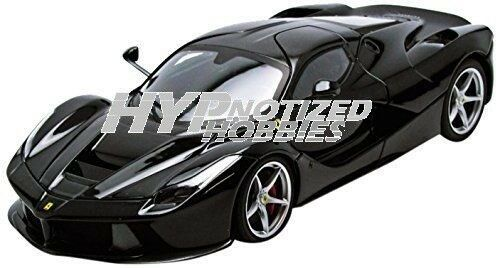 Hot Wheels 1 18 Elite Laferrari F70 Ibrido Pressofuso black Bct80