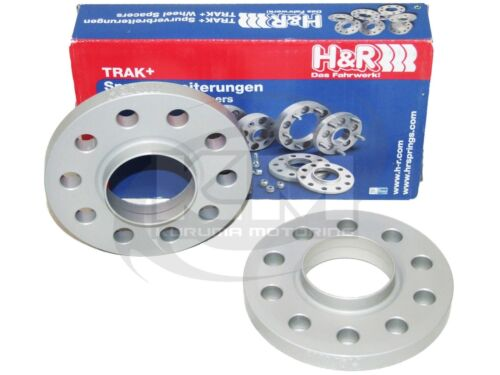 for Audi//Mercedes//Porsche 5x112//66.5//14x1.5 H/&R 12mm DR Series Wheel Spacers