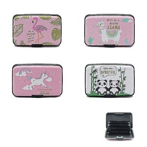 size 40 db786 7bb6d Details about Ladies Credit Card Keys Holder Purse - RFID Signal Blocking -  Security Wallet