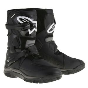 Alpinestars-Belize-Drystar-Waterproof-Motorcycle-Boots-Black-UK8-EU42