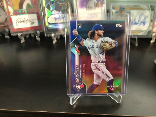2020 Topps Opening Day Bo Bichette Blue Foil /2020 Blue Jays # 173 Rookie RC