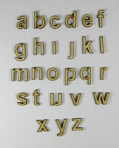image is loading entire alphabet any font unfinished wood letter craft