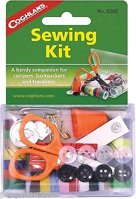 SEWING KIT-A HANDY COMPAINION FOR CAMPERS, BACKPACKERS AND TRAVELERS, SCISSORS S