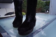 Luna ESKIMOD Damen Winter Schuhe Stiefel Boots Fellstiefel Pelz Leder Gr.36 #93