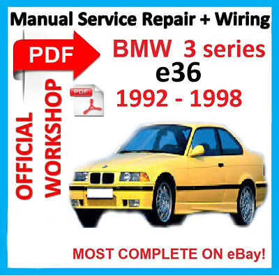 bmw e36 328i 1996 wiring diagram factory workshop manual service repair for bmw series 3 e36 m3  repair for bmw series 3 e36 m3