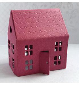 Das Bild Wird Geladen Stanzschablone Cutting Die 3D House 1 Haus Gebaeude