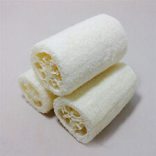 3pcs Natural Loofah Bath Body Shower Sponge Scrubber Skin Care Bathing Sponge